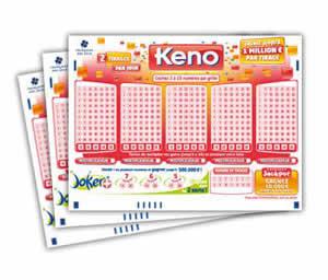 Resultat keno jouer en ligne